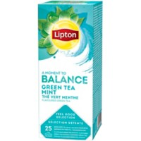 Lipton Green Tea Mint Thee 25 Stuks
