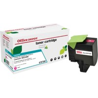 Originele Office Depot Lexmark 802HM Tonercartridge Magenta