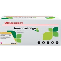 Compatibel Office Depot HP 410A Tonercartridge CF413A Magenta