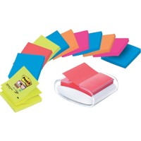 Post-it Z-Notes Dispenser 76 x 76 mm Kleurenassortiment 12 Stuks à 90 Vellen