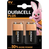 Duracell Batterijen Plus Power 9V 2 Stuks
