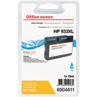 Office Depot Compatibel HP 933XL Inktcartridge CN054E Cyaan