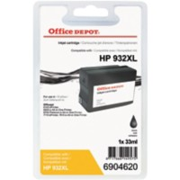 Office Depot Compatibel HP 932XL Inktcartridge CN053E Zwart