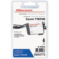 Office Depot Compatibel Epson 16XL Inktcartridge Zwart