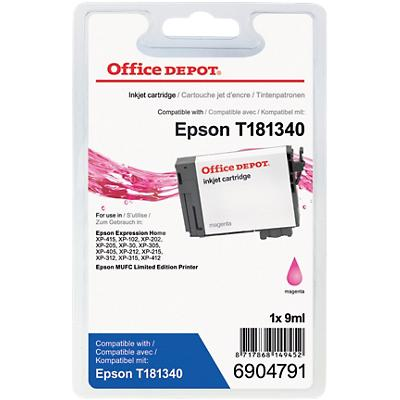 Office Depot Compatibel Epson 18XL Inktcartridge Magenta