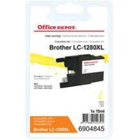 Office Depot Compatibel Brother LC1280XLY Inktcartridge Geel