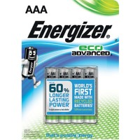 Energizer Batterijen Eco Advanced AAA 4 Stuks