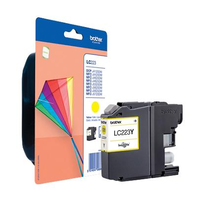 Brother LC223Y Origineel Inktcartridge Geel