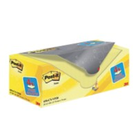 Post-it Notes 76 x 76 mm Canary Yellow Geel 100 Vellen Voordeelpak 16 + 4 GRATIS
