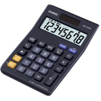 Casio Bureaurekenmachine MS-8VER II 8-cijferige display Zwart