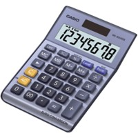 Casio Bureaurekenmachine MS-80VERII 8-cijferige display Blauw