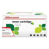Compatibel Office Depot Canon 718C Tonercartridge Cyaan