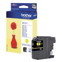 Brother LC121Y Origineel Inktcartridge Geel