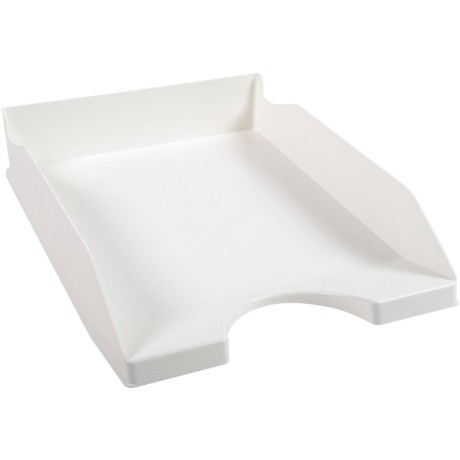 Office Depot Brievenbakje Wit A4 polystyreen 25,5 x 34,8 x 6,5 cm