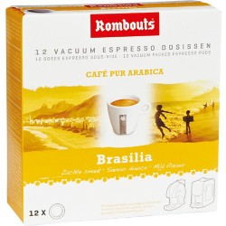 Rombouts Expresso pads Brasilie