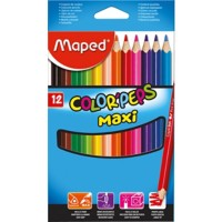 Maped Kleurpotloden ColorPeps Maxi Assorti
