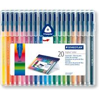 STAEDTLER Viltstiften Triplus Color Assortiment