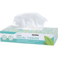 NICEDAY PROFESSIONAL Tissues Standard 2-laags 100 Vellen