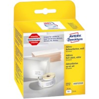 AVERY Zweckform Adresetiketten AS0722520 25 x 54 mm Wit 500 Stuks