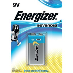 Energizer Batterijen Eco Advanced 9V