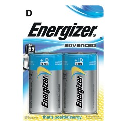 Energizer Batterijen Eco Advanced D 2 batterijen
