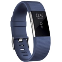 Fitbit Activiteitsmeter Charge 2 small Blauw, zilver