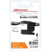 Office Depot Compatibel Brother LC229XL Inktcartridge Zwart