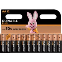 Duracell Batterijen Plus Power AA 12 Stuks
