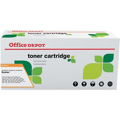 Compatibel Office Depot Brother TN-2320 Tonercartridge Zwart