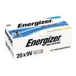 Energizer Batterijen Eco Advanced 9V 20 stuks