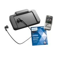 Philips dicteer en transcriptieset  Pocketmemo DPM6700 zilver