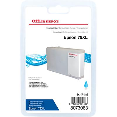 Office Depot Compatibel Epson 79XL Inktcartridge Cyaan