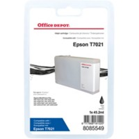 Office Depot Compatibel Epson T7021 Inktcartridge Zwart