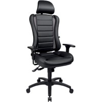 TOPSTAR Operator Chair Head Point Zwart