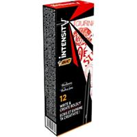 BIC Intensity Fineliners 0.4 mm Rood 12 Stuks