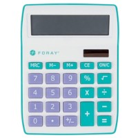 Foray Bureaurekenmachine Generation 10-cijferige display Petrol, paars