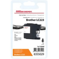 Office Depot Compatibel Brother LC223BK Inktcartridge Zwart