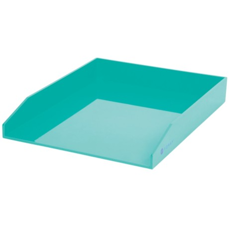 Foray Generation Brievenbakje Aqua A4 42 mm plastic 25,1 x 31,3 x 4,5 cm