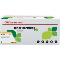 Originele Office Depot HP 410A Tonercartridge CF411A Cyaan