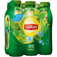 Lipton Frisdrank Green Tea 6 Flessen à 500 ml