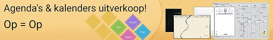 Agenda's & kalenders uitverkoop! - Op = Op