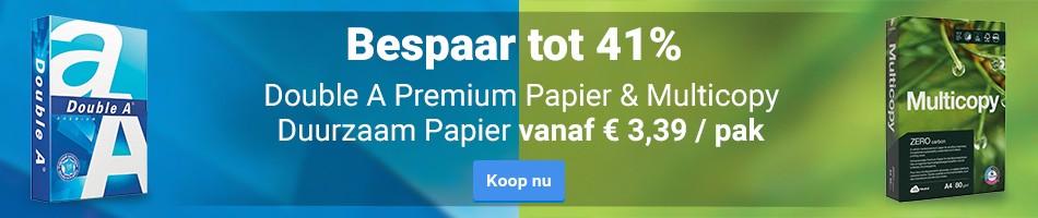 Double A Premium Papier & Multicopy Duurzaam Papier