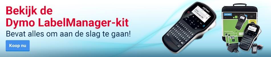 Bekijk de Dymo LabelManager-kit - Bevat alles om aan de slag te gaan!