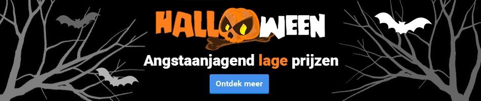 Halloween! Angstaanjagend lage prijzen