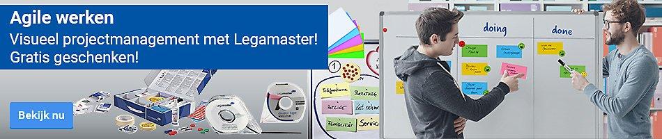 Agile werken - Visueel projectmanagement met Legamaster! - Gratis geschenken!