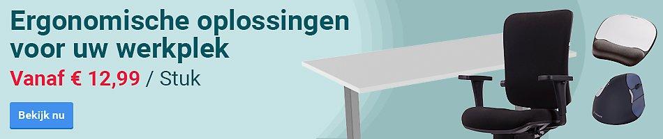 Ergonomische oplossingen voor uw werkplek. Vanaf € 12,99 / Stuk