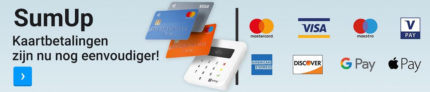 SumUp Kaartbetalingen zijn nu nog eenvoudiger!