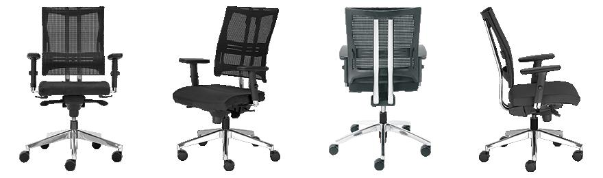 Nowy Styl Ergonomische stoel Net Motion