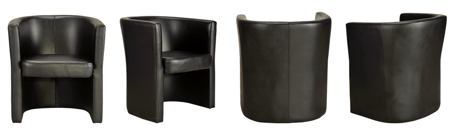Realspace Bezoekersstoel Tocca Zwart