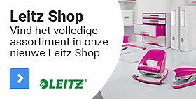 Vind het volledige assortiment in onze nieuwe Leitz Shop